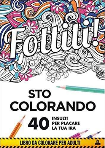 libro da colorare per il tempo libero