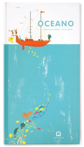 oceano libro pop up