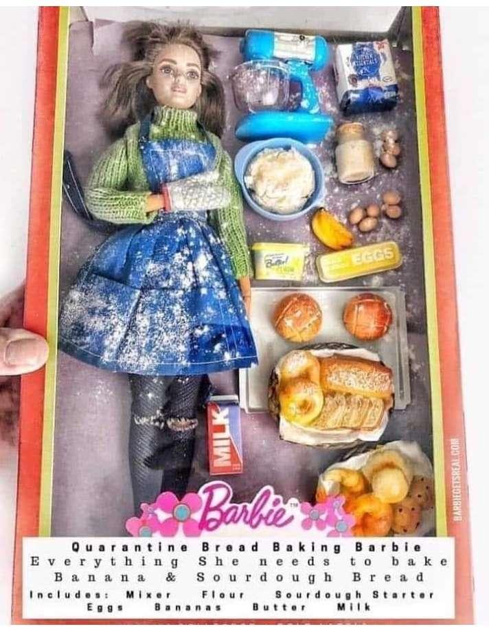barbie panificatrice