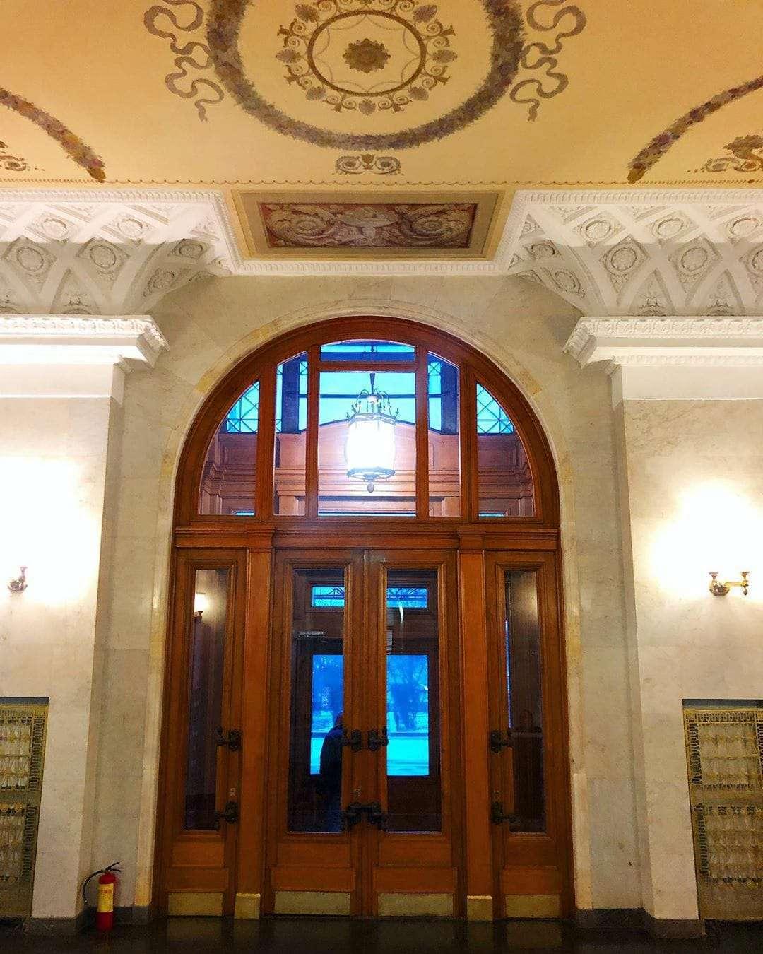 architettura stalin ingresso