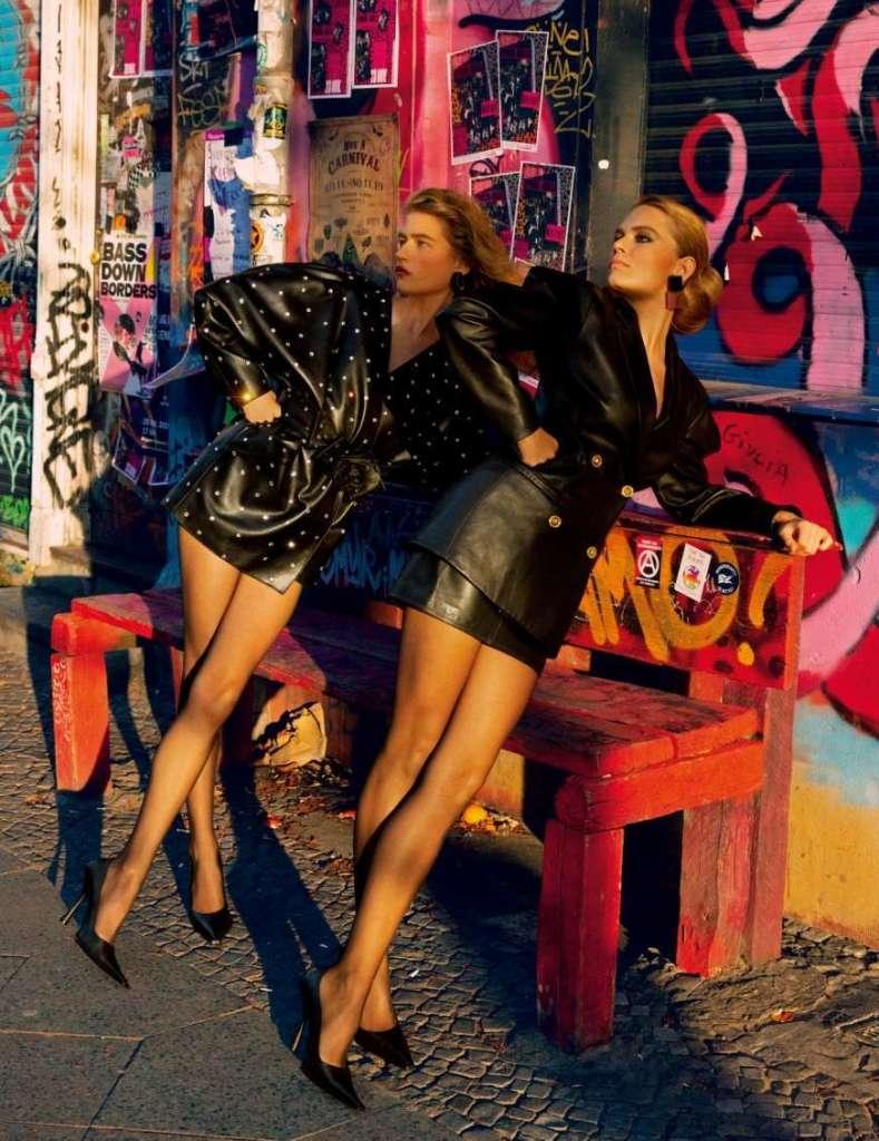 editoriali moda anni '80 '90