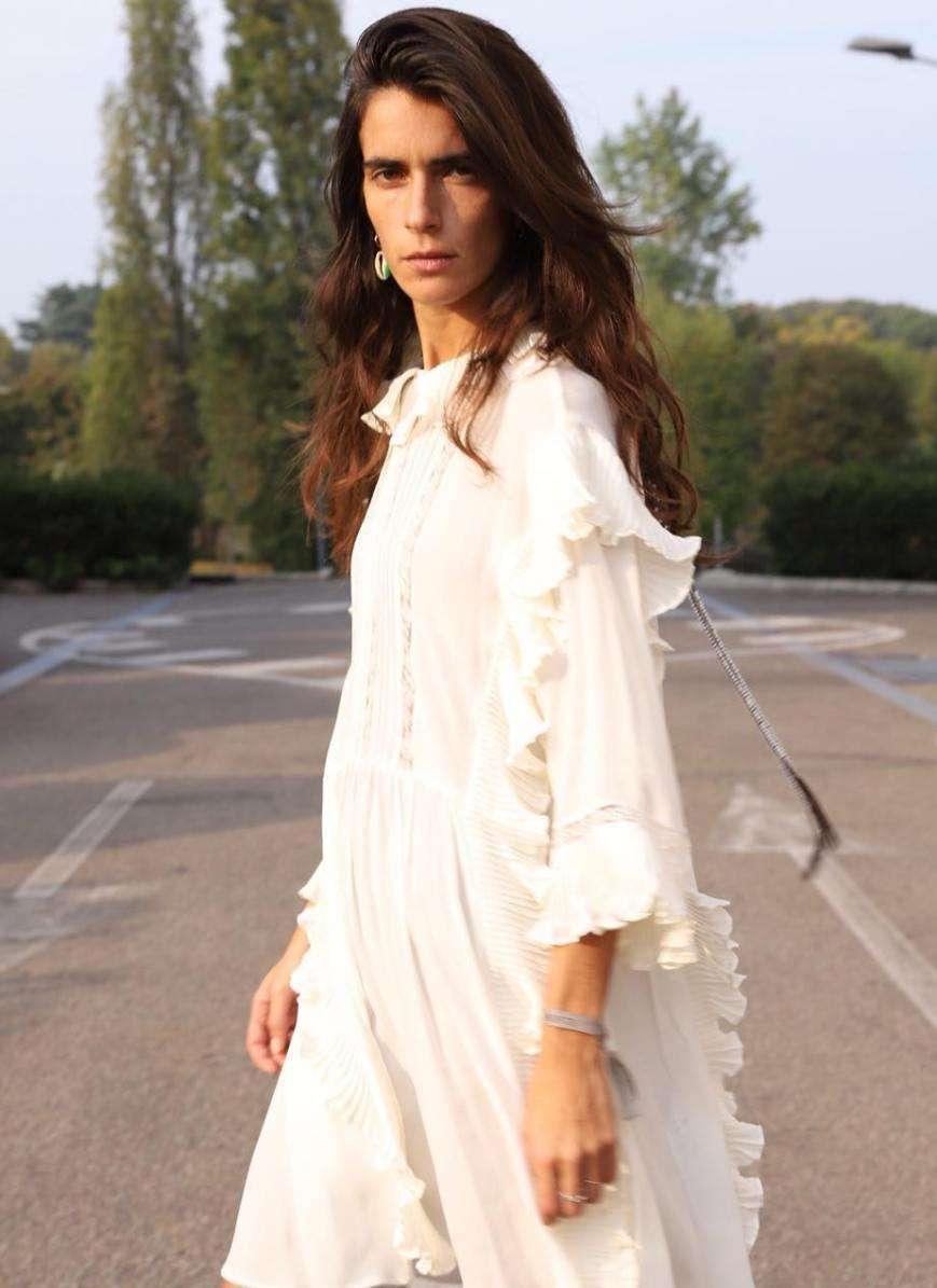 Vestito bianco in saldo