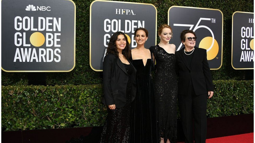 Little Black Dress ai golden globe