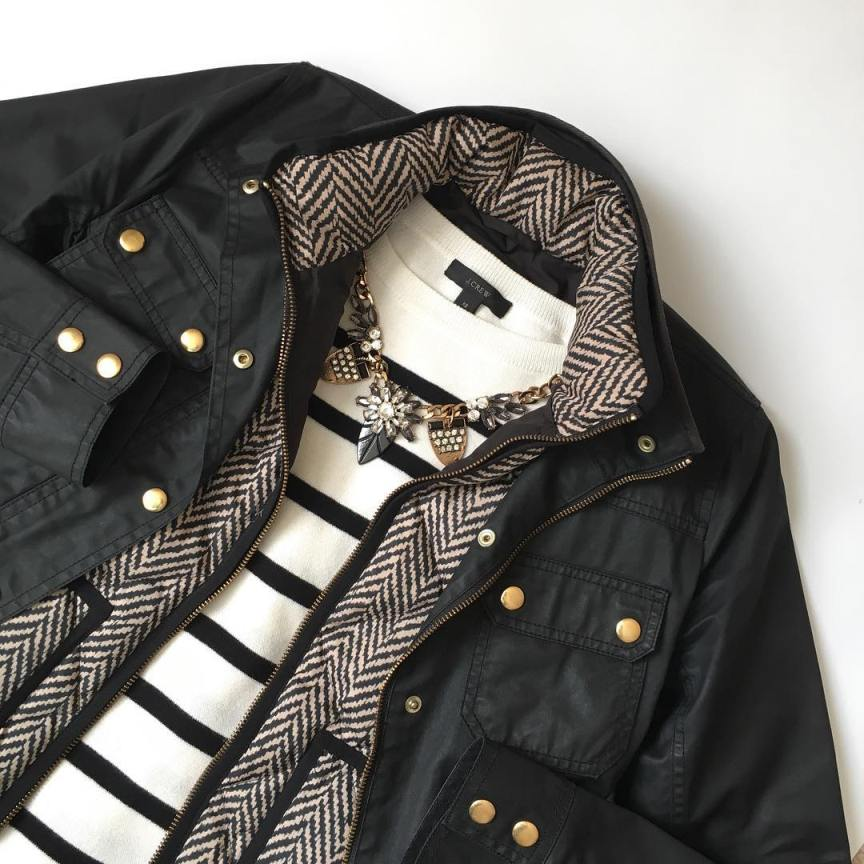 giacca cerata