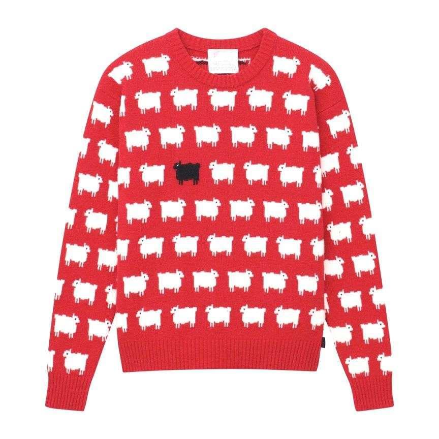 maglione con le pecore