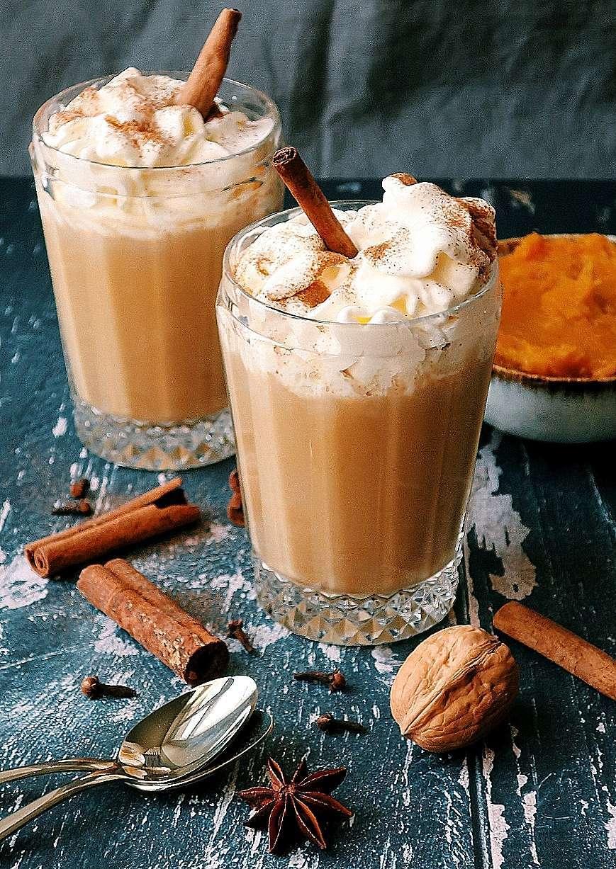 pumpkin spice latte bevanda alla zucca