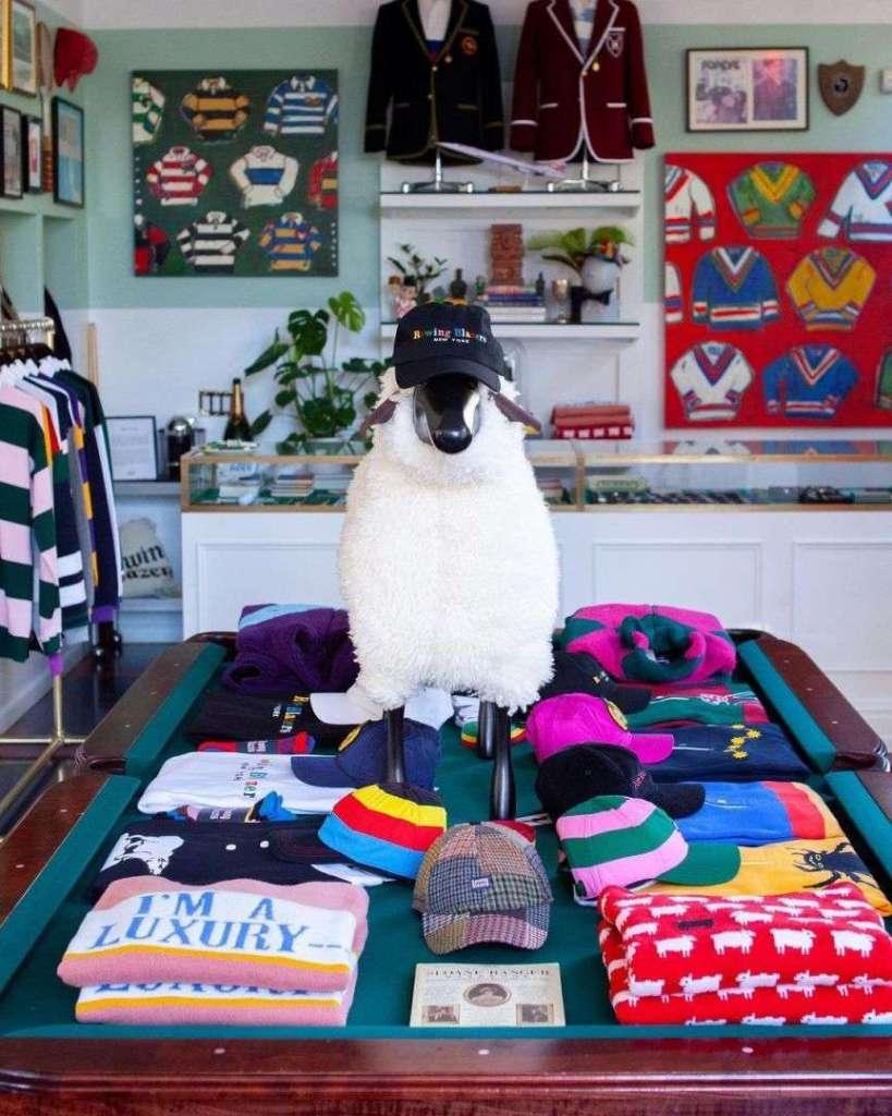 negozio preppy style
