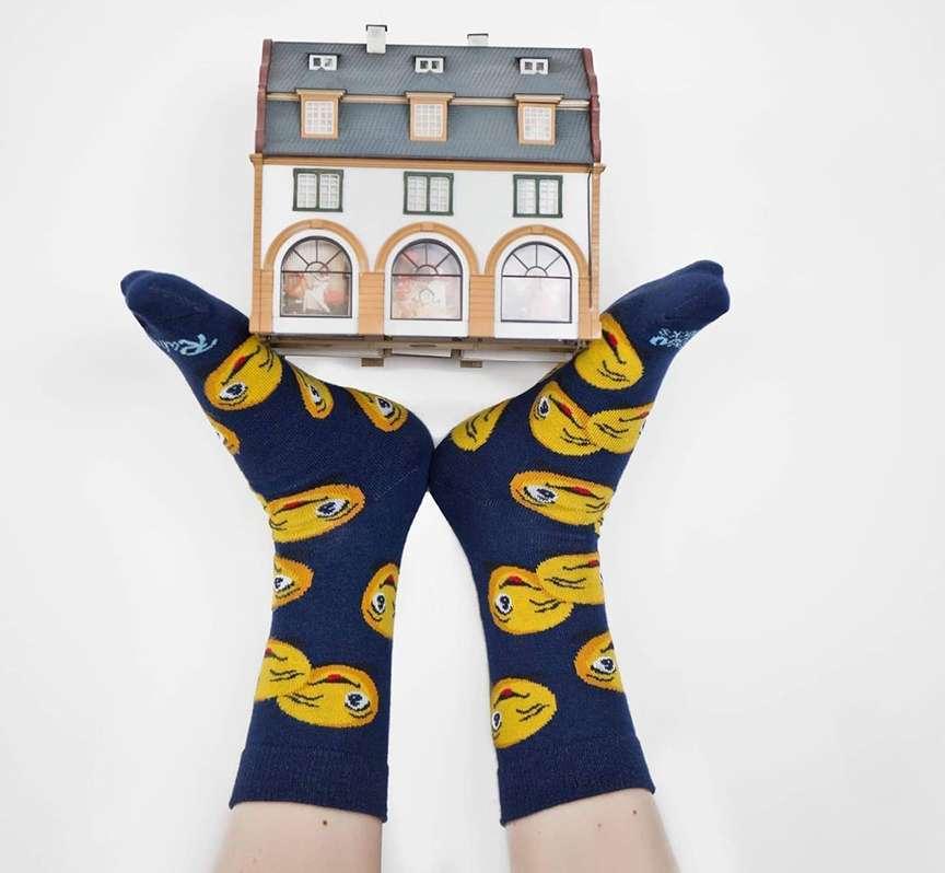 migliori calzini divertenti colorati con le stampe