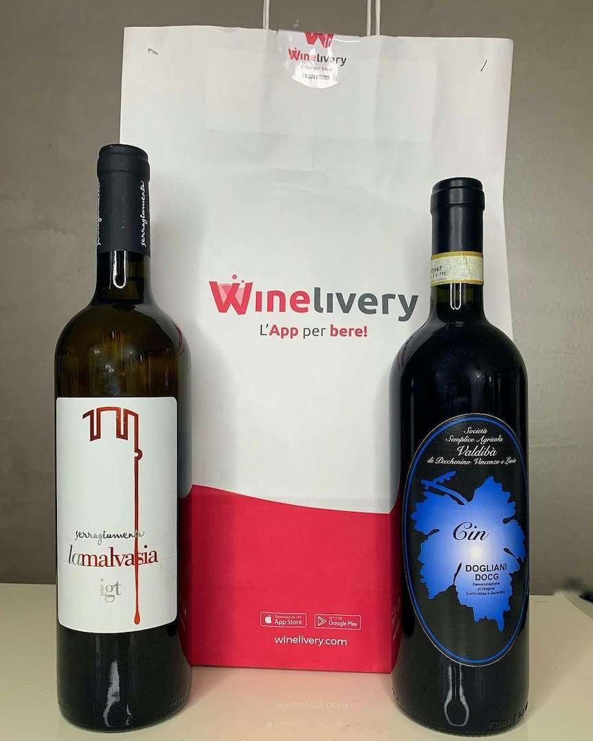 migliori delivery food e wine