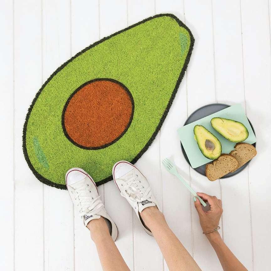 Tappeto avocado