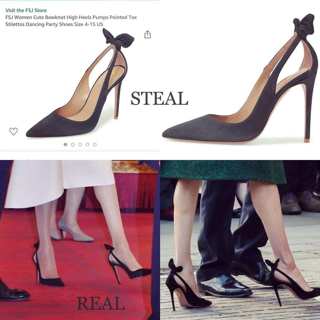 scarpe da copiare dei look reali