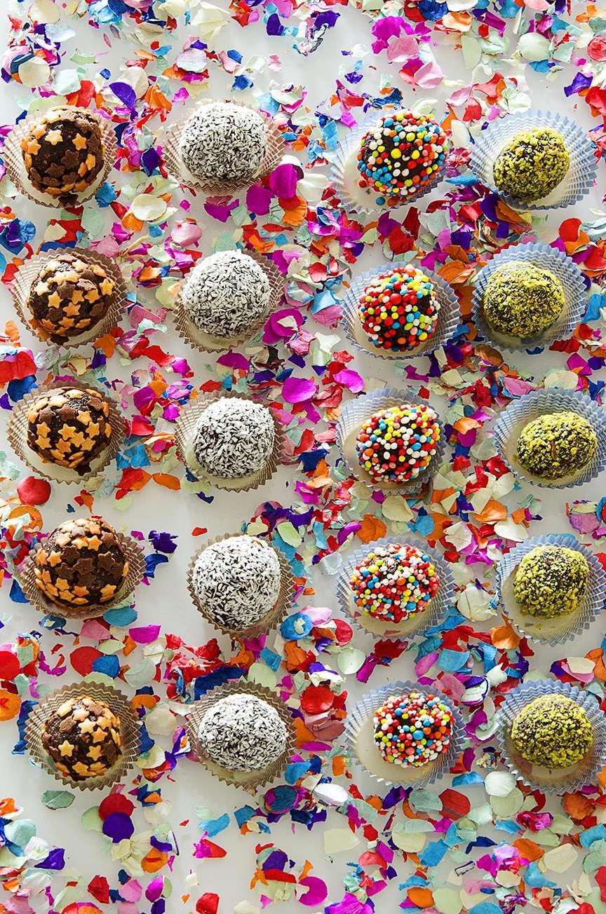 Coriandoli di cioccolato