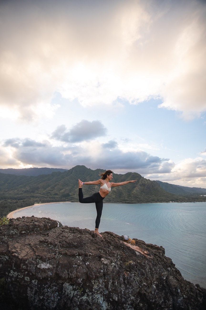 yoga fuori casa