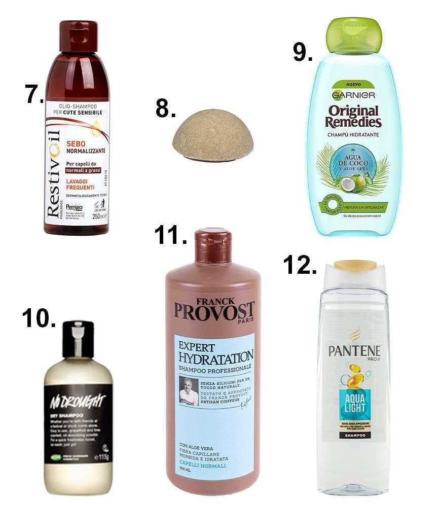 shampoo capelli da provare
