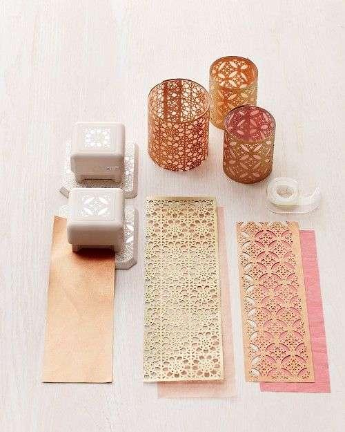materiale creativo per perforare