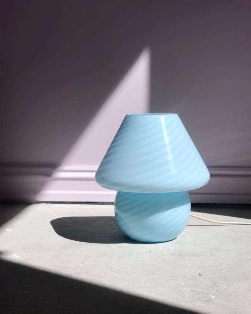 lampada a fungo in vetro