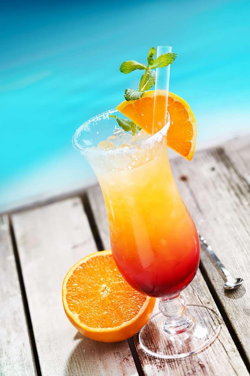 Sex on the beach cocktail famosi