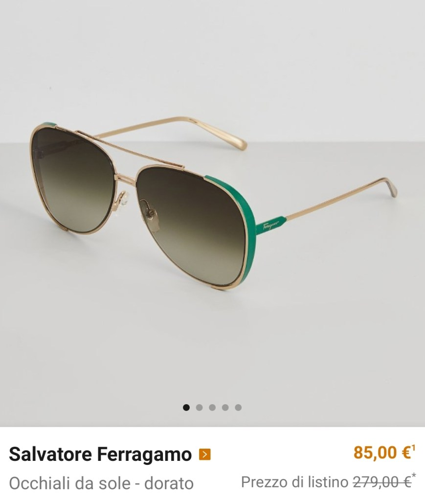 occhiali da sole scontati