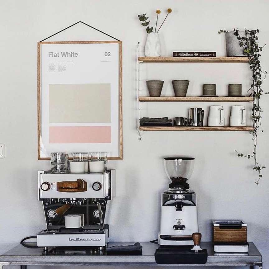 angolo del caffè in casa