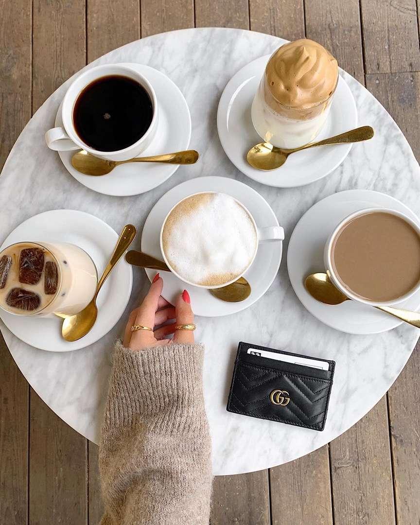 tutto il buono e il bello del caffè