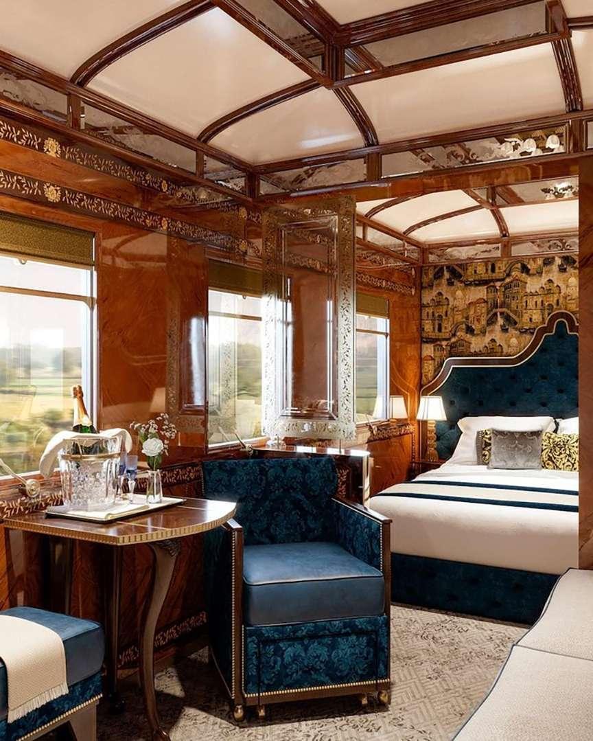 Interno treni di lusso