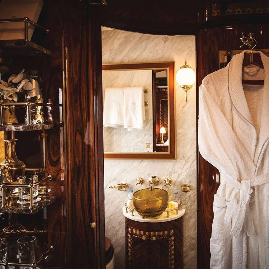 Interno cabina di lusso