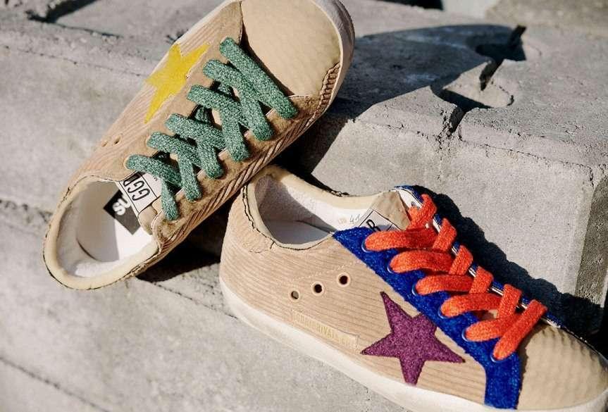 scarpe con la stella