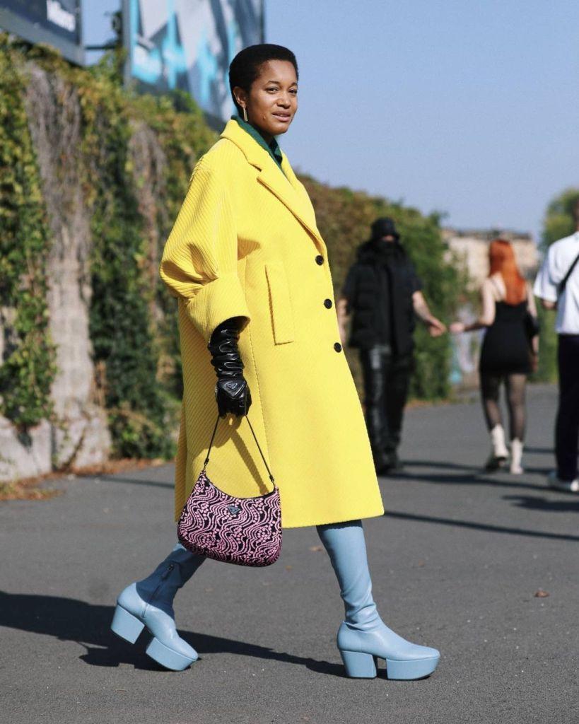 Street style settimana moda