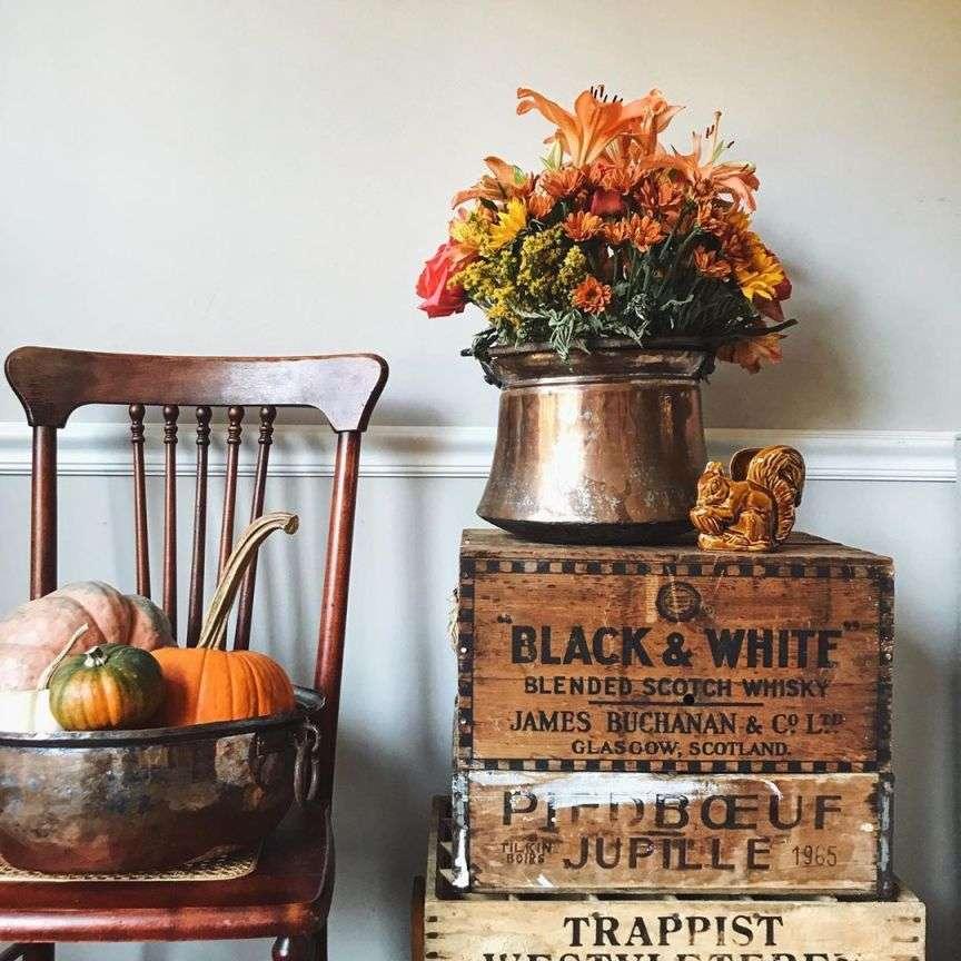 decorazione casa autunno