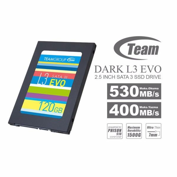SSD Team L3 EVO 120Gb - 1