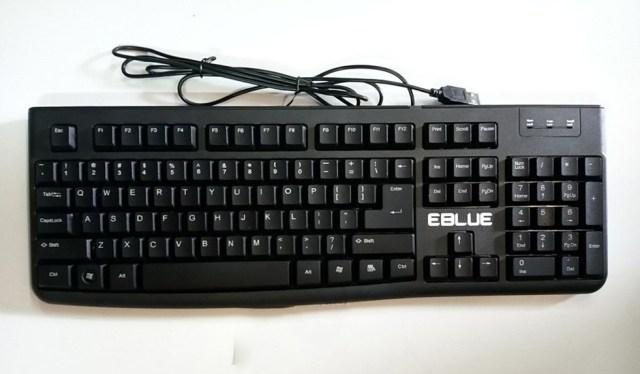 Bàn phím EBlue 045BK chính hãng