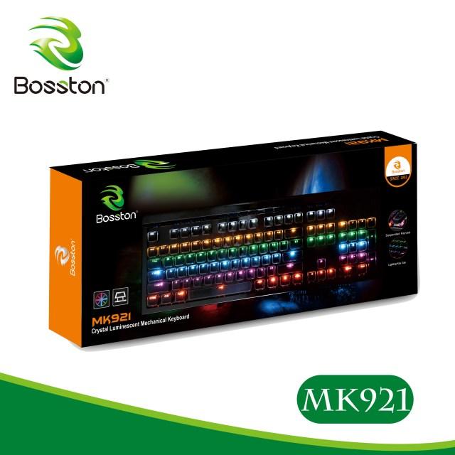 Bàn phím cơ Bosston MK-921 Led Gaming chính hãng
