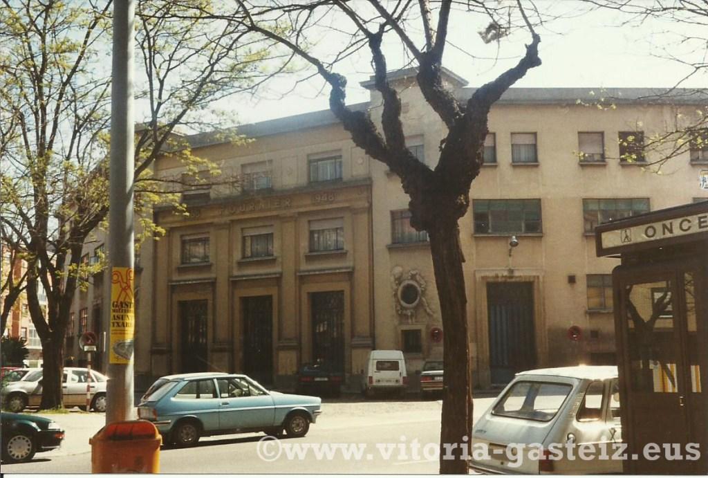 Fábrica Fournier de Vitoria-Gasteiz previa a su demolición ©www.vitoria-gasteiz.eus