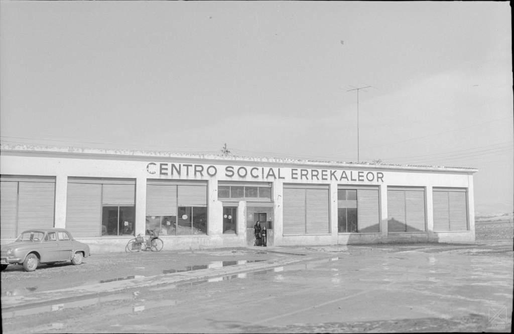 Errekaleor, el barrio ideado como «Un Mundo Mejor»