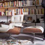 Vitra Lounge Chair Ottoman