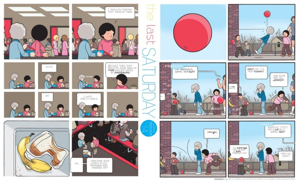 The Last Saturday: a HQ do Chris Ware pro Guardian – Partes #15, #16 e #17