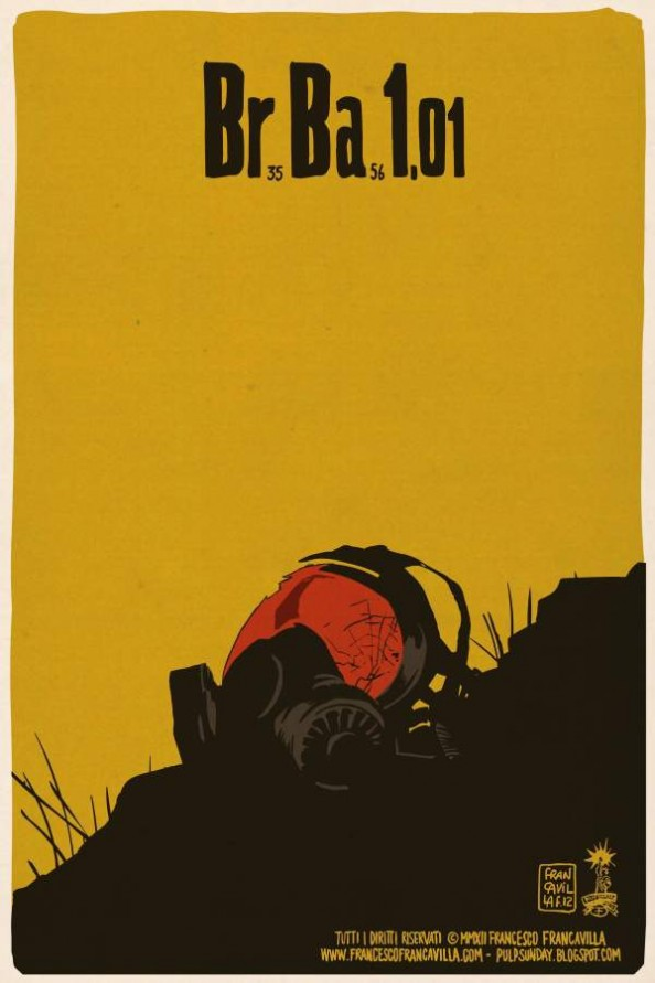 Breaking Bad, por Francesco Francavilla