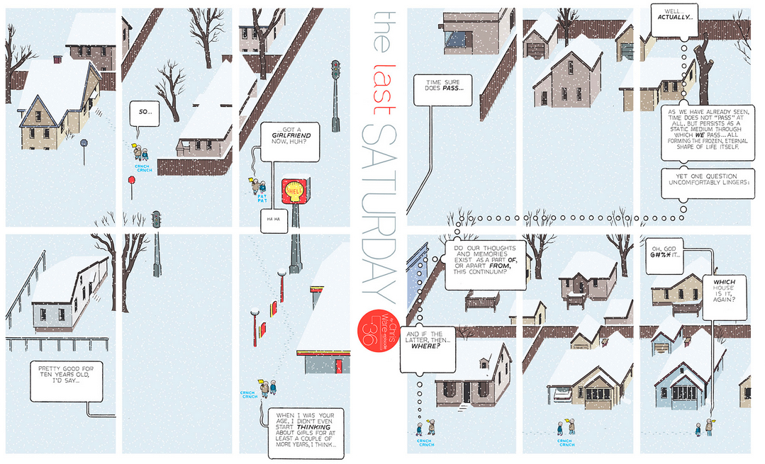 The Last Saturday: a HQ do Chris Ware pro Guardian – Parte #37