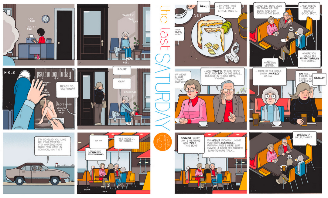 The Last Saturday: a HQ do Chris Ware pro Guardian – Parte #43