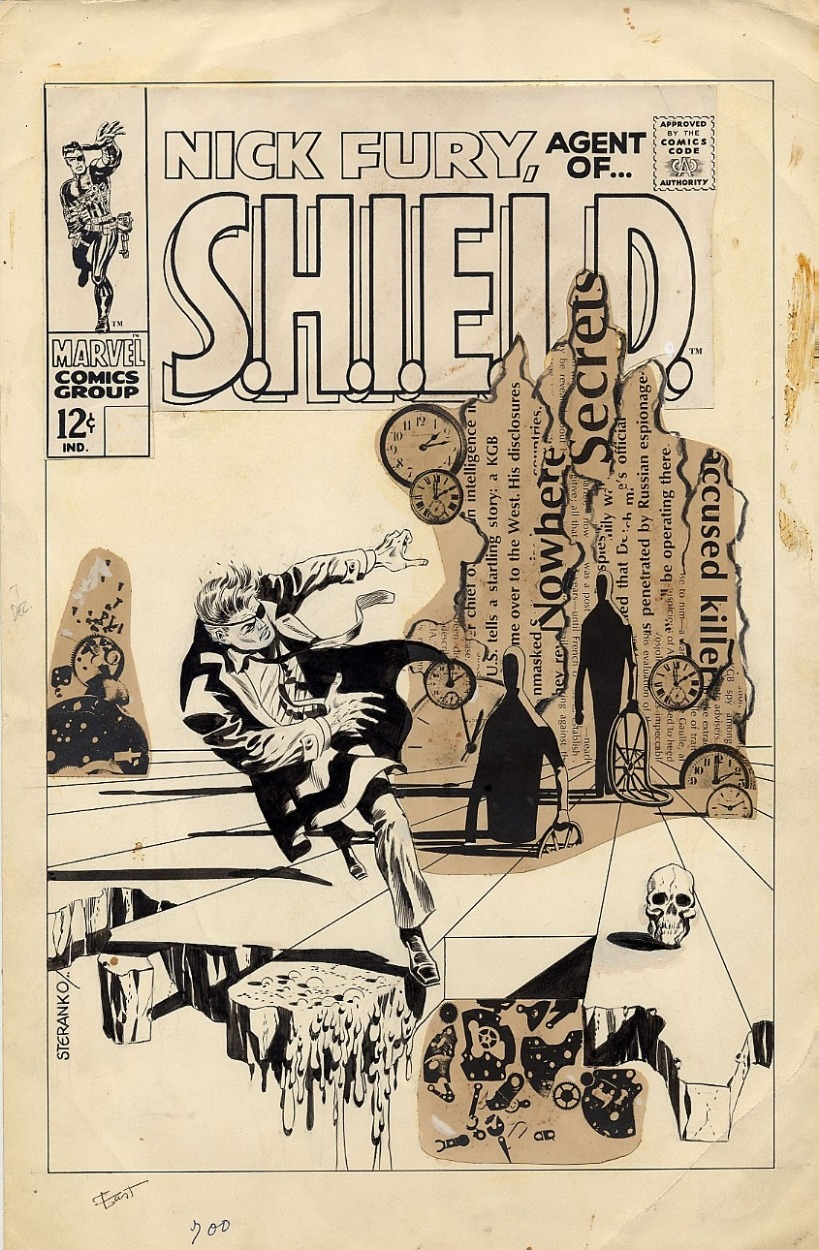 Nick Fury, Agent of S.H.I.E.L.D. #7 (1968), por Jim Steranko