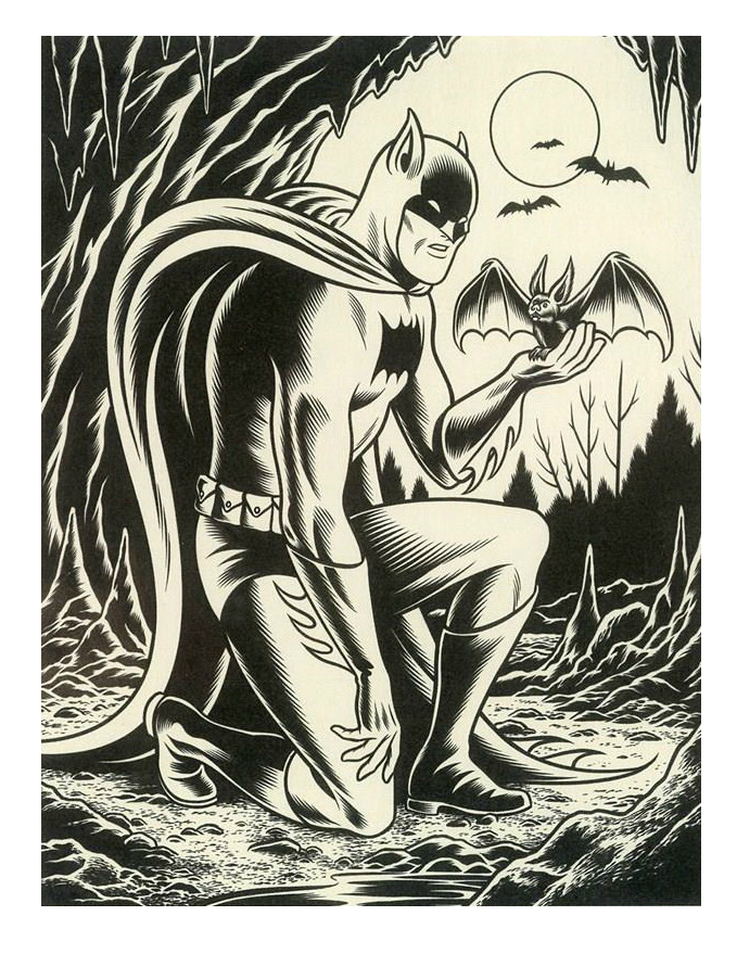 Batman, por Charles Burns
