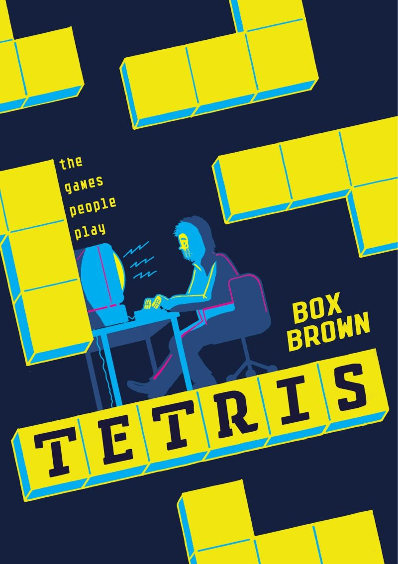 Tetris: The Games People Play – está em pré-venda a nova HQ de Box Brown