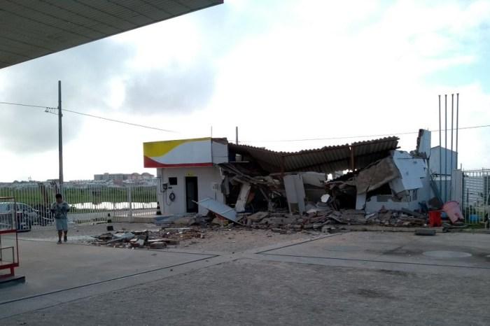 Grupo explode cofre de posto de combustível e foge com R$ 30 mil