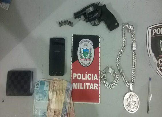 Operação de Carnaval da PM apreende armas de fogo, explosivos e recupera veículos