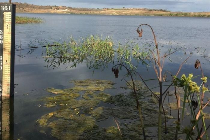 Após chuvas, açude de Boqueirão recebe 140 mil m³ de água em uma semana