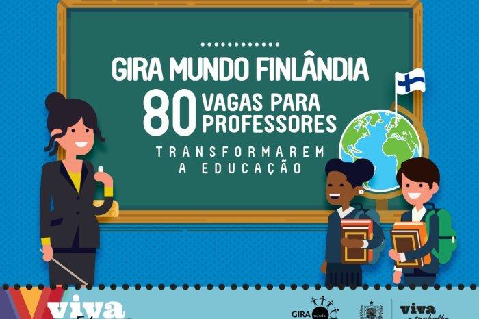 Gira Mundo inscreve professores da PB para intercâmbio gratuito