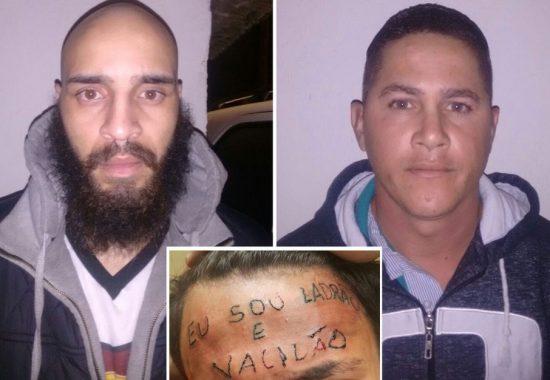 Dupla recebe pena de 3 anos por tatuar adolescente na testa