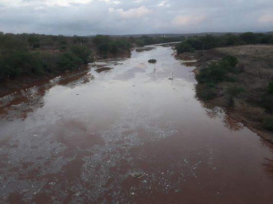 Chuvas no Cariri fazem aumentar nível de água do açude Epitácio Pessoa, em Boqueirão