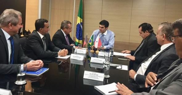 José Maranhão pede obras hídricas para a Paraíba