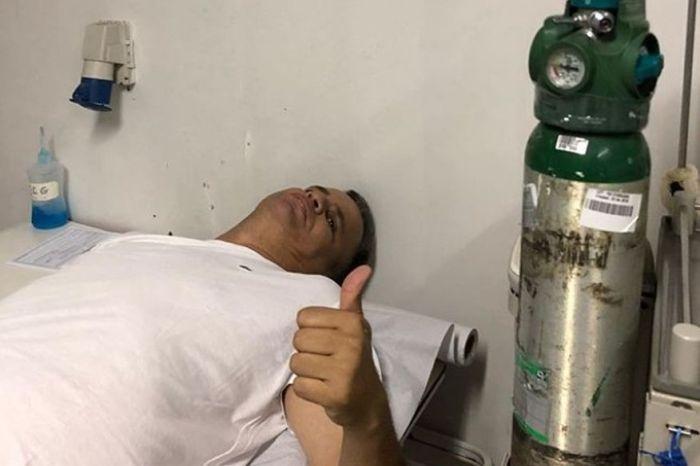 "Emerson Machado, ""Mofi"", é internado com suspeita de infarto"